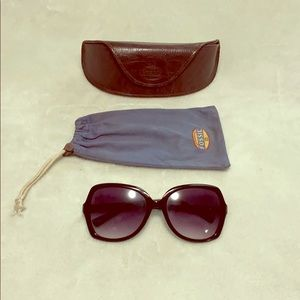 💖Fossil sunglasses with case💖
